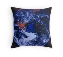 The world according to.... Throw Pillow