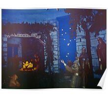 New crib scene Greccio 19840408 0037  Poster