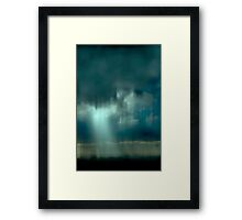 Cloud One Digital Photograph Framed Print