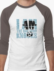 I Am The One Who Knocks (Breaking Bad) Men's Baseball ¾ T-Shirt