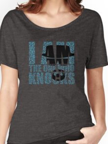 I Am The One Who Knocks (Breaking Bad) Women's Relaxed Fit T-Shirt