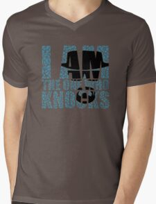 I Am The One Who Knocks (Breaking Bad) Mens V-Neck T-Shirt