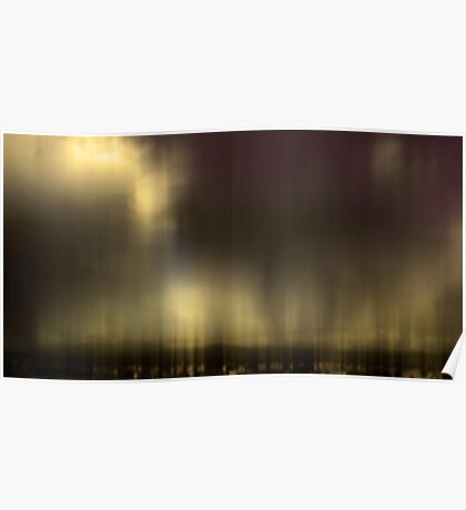 Wine Cloud Digital Photograph Poster