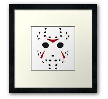 Serial killer Hockey mask Framed Print