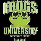 Frogs University 2 by Adamzworld