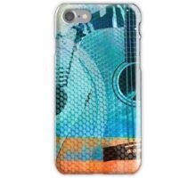 Guitar and Speaker Art iPhone Case/Skin