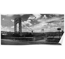 George Washington Bridge Panoramic Poster