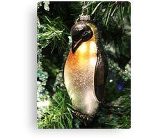 Christmas Decoration - Penguin Ornament Canvas Print