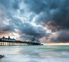 Stormy sunrise over Eastbourne Pier by willgudgeon
