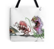 MONSTER FOOD CHAIN Tote Bag