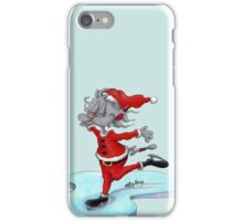 Gato christmas time #6 iPhone Case/Skin