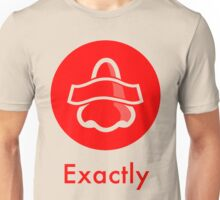 Bottle Rocket 'Exactly' - Red Unisex T-Shirt