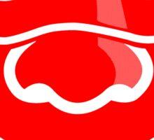 Bottle Rocket 'Exactly' - Red Sticker