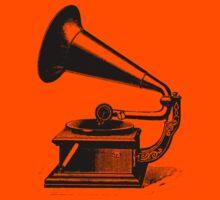 Old Phonograph (Gramophone) by Michael Sundburg