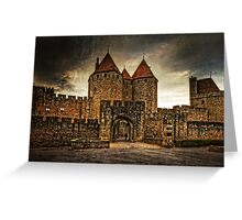 Carcassonne Greeting Card