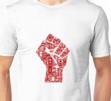Gamer revolution fist Unisex T-Shirt