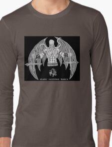 Death Metal Cthulhu (Raw Version) Long Sleeve T-Shirt