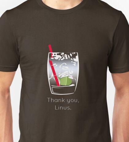 Thank you, Linus Unisex T-Shirt