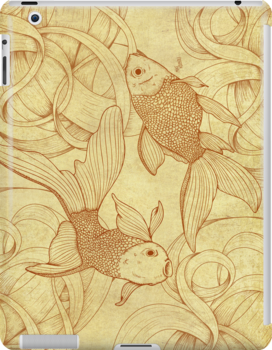 Goldfishes Nr. 2 by mikekoubou