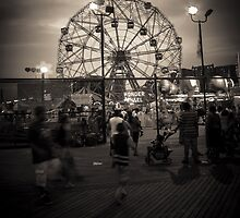 Coney Island Boardwalk by Andrew O'Hara