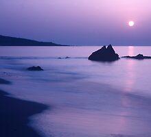 Sunrise - El Faro by David W Bailey