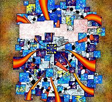 Abstract digital art - Deselia V2 by Cersatti