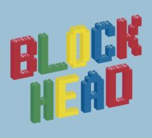 Lego Block Head by threeblackdots