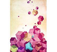 Color Cubes Photographic Print