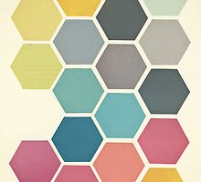 Honeycomb II by Cassia