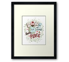 Bake the World a Sweeter Place Framed Print