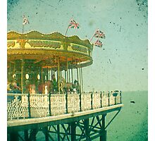 Carousel by the Sea Photographic Print