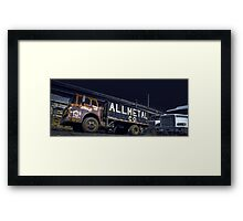 Night Raiders Framed Print