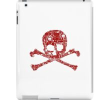 Gamer skull iPad Case/Skin