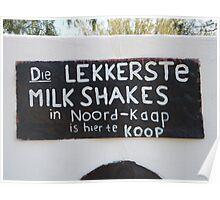 Lekkerste melkskommels Poster
