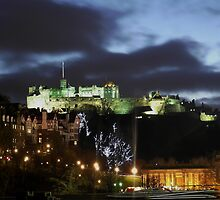 Christmas in Edinburgh by Pat Millar
