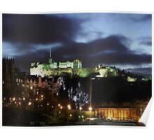 Christmas in Edinburgh Poster