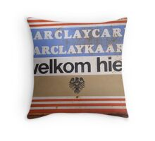 Barclaykaart Throw Pillow