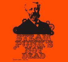 Jules Verne was a punk Kids Tee