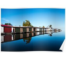 Muskoka Boathouses Poster