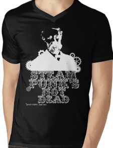 Jules Verne was a punk Mens V-Neck T-Shirt