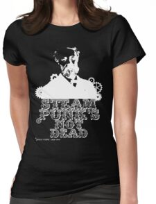 Jules Verne was a punk Womens Fitted T-Shirt