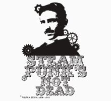 Nikola Tesla was a punk Kids Clothes