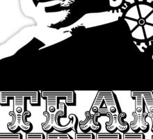 Nikola Tesla was a punk Sticker