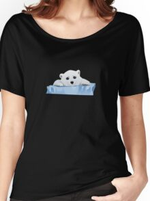 Poor Polar Bear Women's Relaxed Fit T-Shirt
