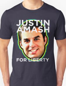Justin Amash Michicagn Republican Libertarian T-Shirt