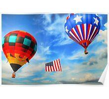 Plano Texas Balloon Festival Poster