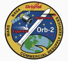 Cygnus CRS Orb-2 Logo One Piece - Short Sleeve