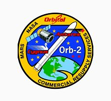 Cygnus CRS Orb-2 Logo Unisex T-Shirt