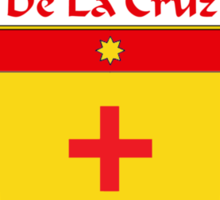 DeLaCruz Coat of Arms/Family Crest Sticker