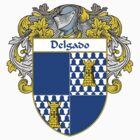 Delgado Coat of Arms/Family Crest by William Martin